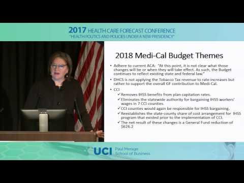 2017 HCFC: California 2018 Budget: Medi-Cal | Margaret Tatar
