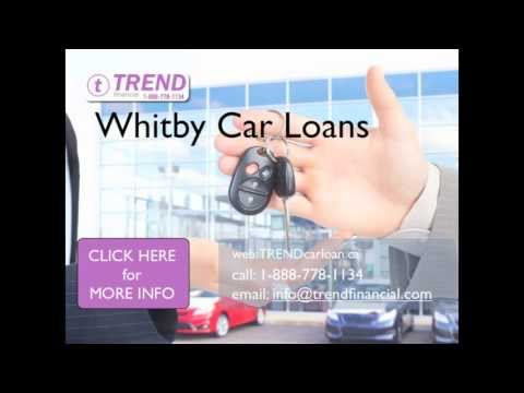 Car Loans Whitby - for Good Credit, Bad Credit, Specialty Vehicles