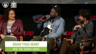 NYCC • SPIDER-MAN: INTO THE SPIDER-VERSE Panel - Must watch Brian Tyree Henry
