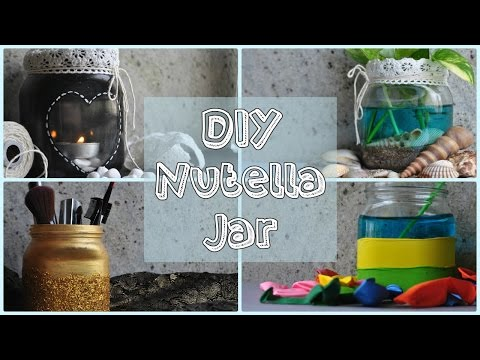 DIY Home Decor : Nutella Jar