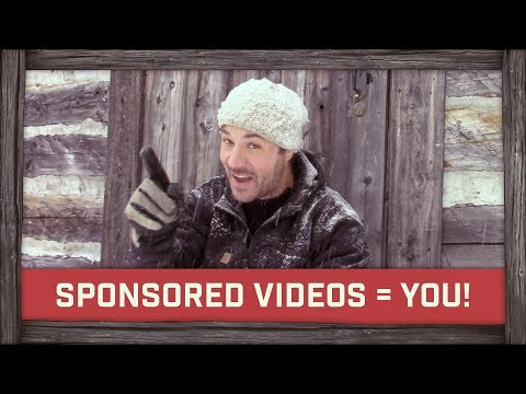Sponsored videos = YOU make it happen!