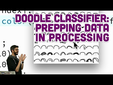 5.2: Doodle Classifier: Prepping Data in Processing - Intelligence and Learning
