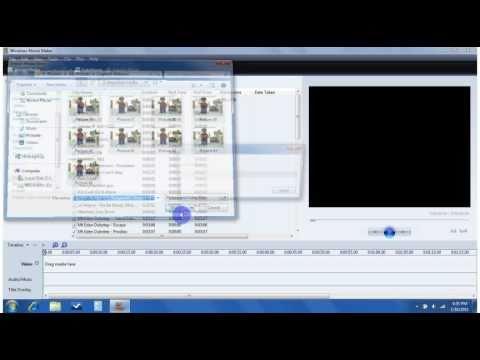 Tutorial: Stop motion using Windows Movie Maker