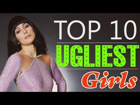 Top 10 Most Ugliest Girls in The World    Ugliest Female Celebrities List