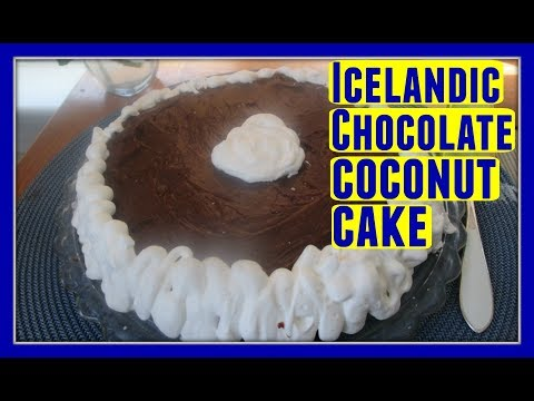 How to Make an Easy Icelandic Chocolate Coconut Cake Recipe 🍰