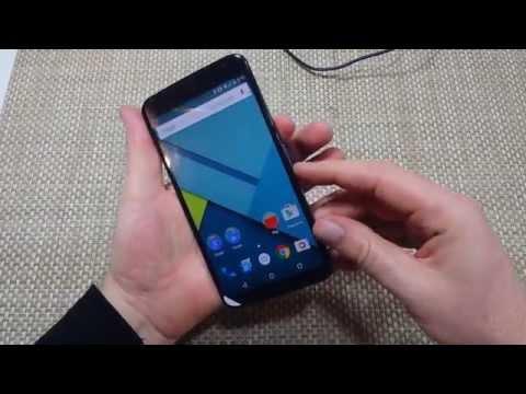 Motorola Nexus 6 How to take or capture a screen shot
