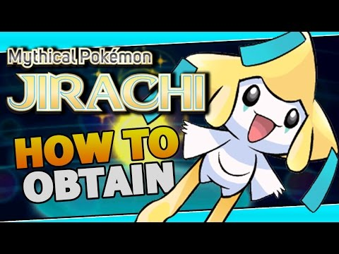 How to Get JIRACHI - Mythical Pokemon JIRACHI Event Distribution information