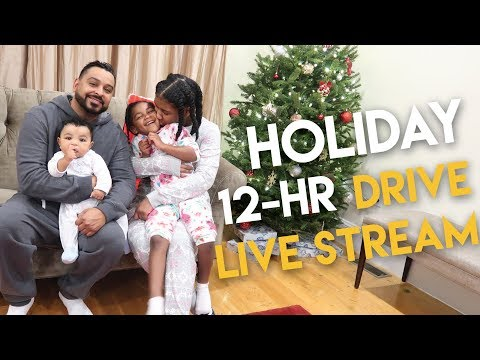 Naptural85 Holiday Drive 12-HR  LIVE STREAM - Part 1