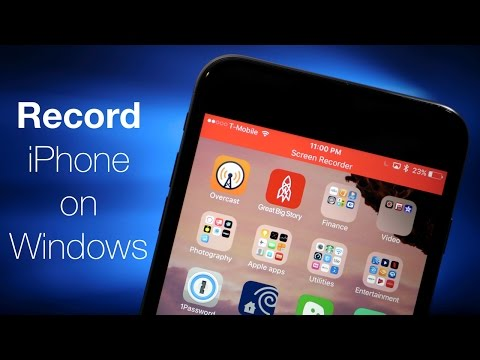 How To Record Your iPhone Screen On Windows or iPhone