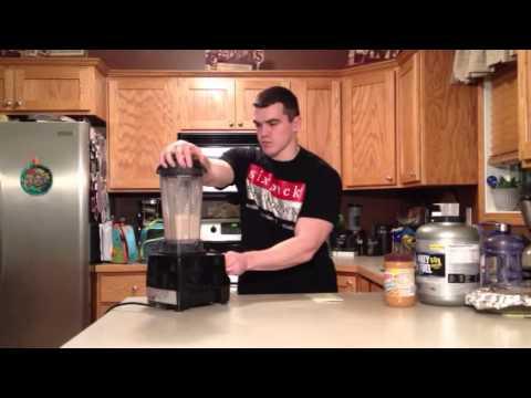 Butterfinger Protein Smoothie