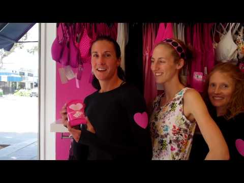 Pink Women's Compression Socks - Black Running Socks from RunningSkirts