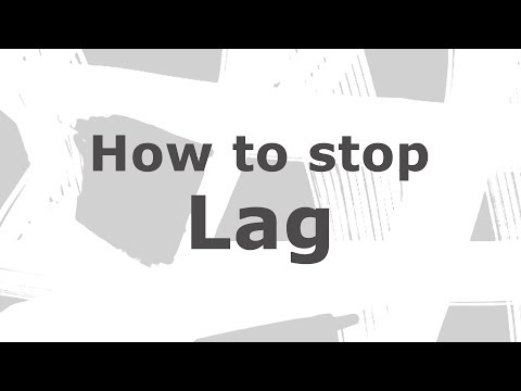 How to reduce lag in games
