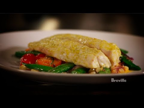 Breville Presents a Lemon Baked Snapper Recipe by Chef Jeremy Sewall in Fishing for Real