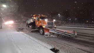 Central, MN Snow Storm Travel Hazards - 11/3/2017