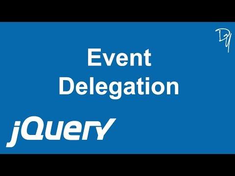jQuery - Event Delegation #12