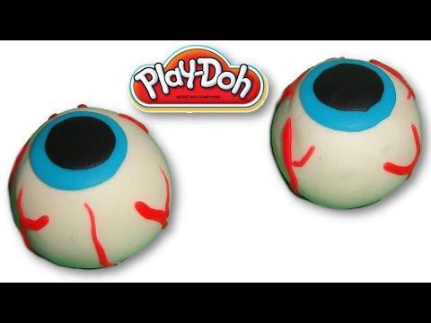 Play Doh Human Eyeballs - Halloween Special