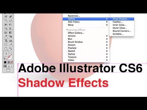 Adobe Illustrator CS6 - 10 - Shadow Effects