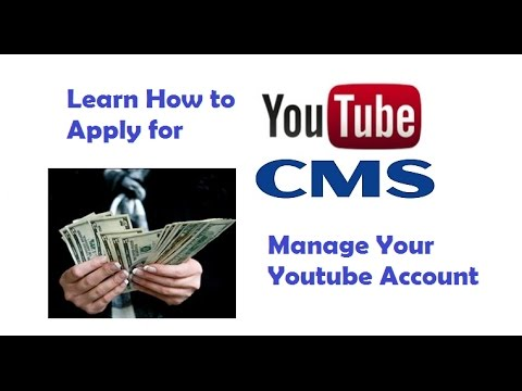 How to Apply for Youtube CMS Account||Ecoursepad