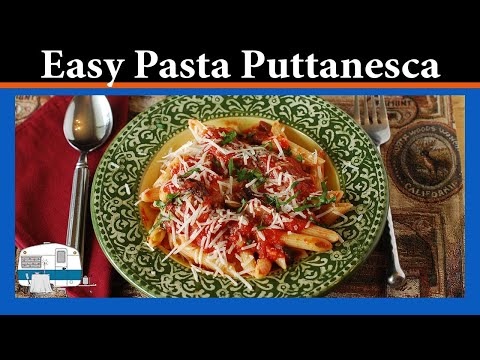 How to Make Italian Pasta Puttanesca