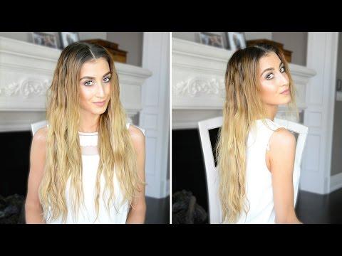 Heatless Wavy Hair