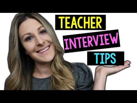 HOW TO GET YOUR FIRST TEACHING JOB! | Teacher Interview Tips