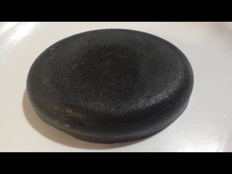 How to make charcoal soap using coconut shell  for skin whitening and glowing skin
