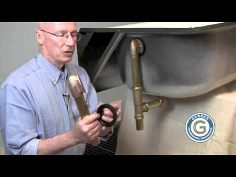 Gerber Bath Drain Installation Tip