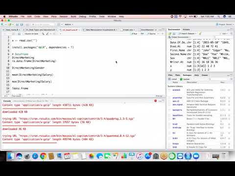Day 03: Data Frame and Functions in R