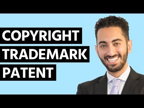 What's the Difference Between Copyright vs. Trademark vs. Patent?