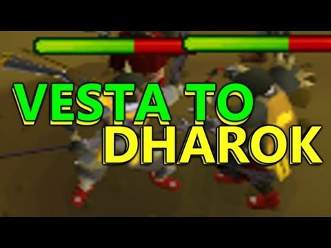 Runescape Sparc Mac's Vesta-Dharok Switching Pk Commentary!