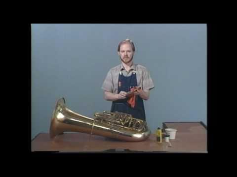 Tuba Repair #5  Slide Lubrication  -  Jeff Funderburk