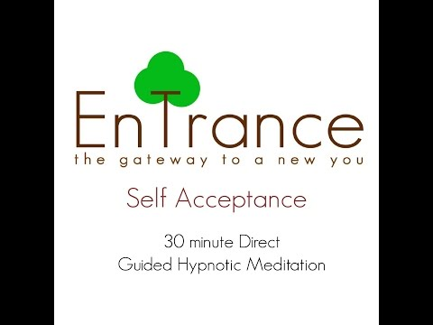 (30') Self acceptance - Learn to love and accept yourself - Guided Self Help Hypnosis/Meditation.