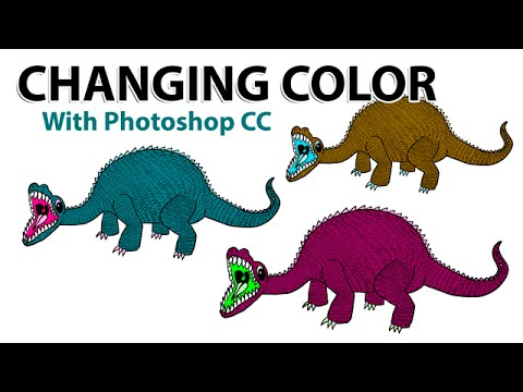 Changing Color With Photoshop CC