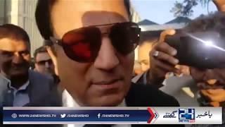 Naeem Bukhari cracks funny jokes outside SC