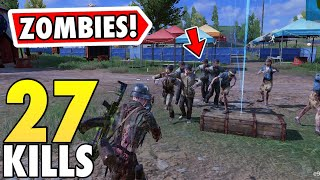 *NEW* ZOMBIE EVENT IN CALL OF DUTY MOBILE BATTLE ROYALE!
