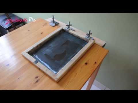 Silkscreen table modification