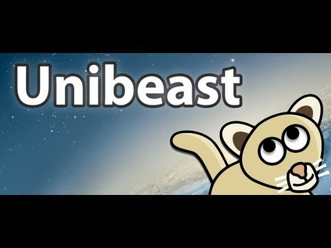 How to: Creating a Unibeast Flashdrive, Mountain Lion, HD! 2013