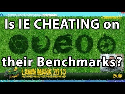 Is Microsoft (IE11) Cheating on HTML5 Benchmarks?