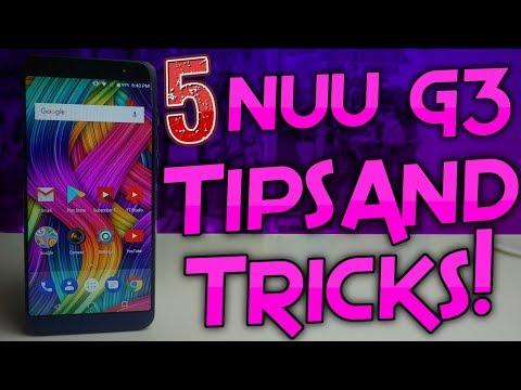 NUU Mobile G3 | 5 Awesome Tips & Tricks!