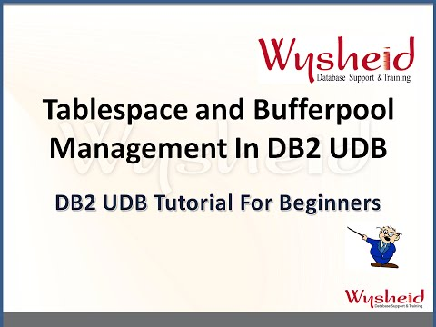 Tablespace & bufferpool administration in db2 | db2 dba administration