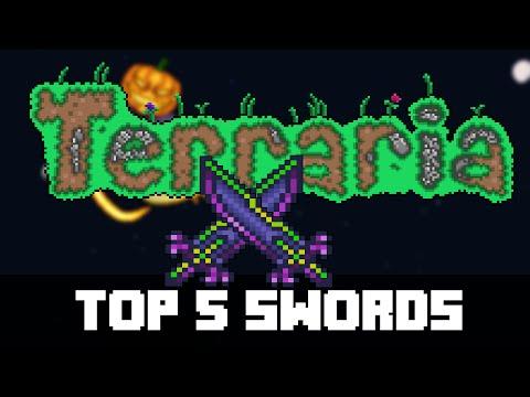 Top 5 Hardmode Weapon Swords in Terraria (PC, CONSOLE, MOBILE) PRE 1.3