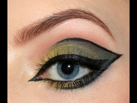 Sage Cat Eye | Autumn Makeup Tutorial