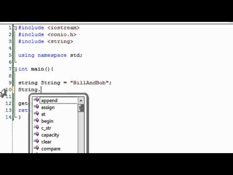 C++ Tutorial 32: String Manipulation