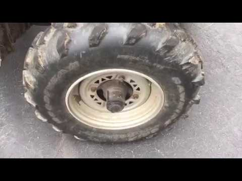 How to use dish soap to find the leak in your flat tire.