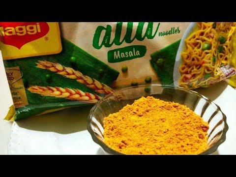 घर पे आसानी से तैयार करे मैगी मसाला || homemade maggi masala powder