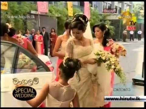 Xxx Mp4 Hiru TV Mangalam Special Wedding Of Ruwangi Amp Chamath 3gp Sex