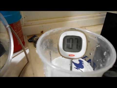 Homemade Solar Hot Water Heater Update