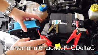 Come avviare l'auto con avviatore / booster