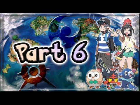 Pokemon Sun and Moon Walkthrough/Let's Play Part 6 - Captains and Crooks