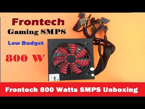 Frontech JIL-2430 800 Watts SMPS / PSU Unboxing | Gaming SMPS /PSU  | How Can I Help U